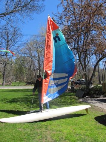 donated sailboard