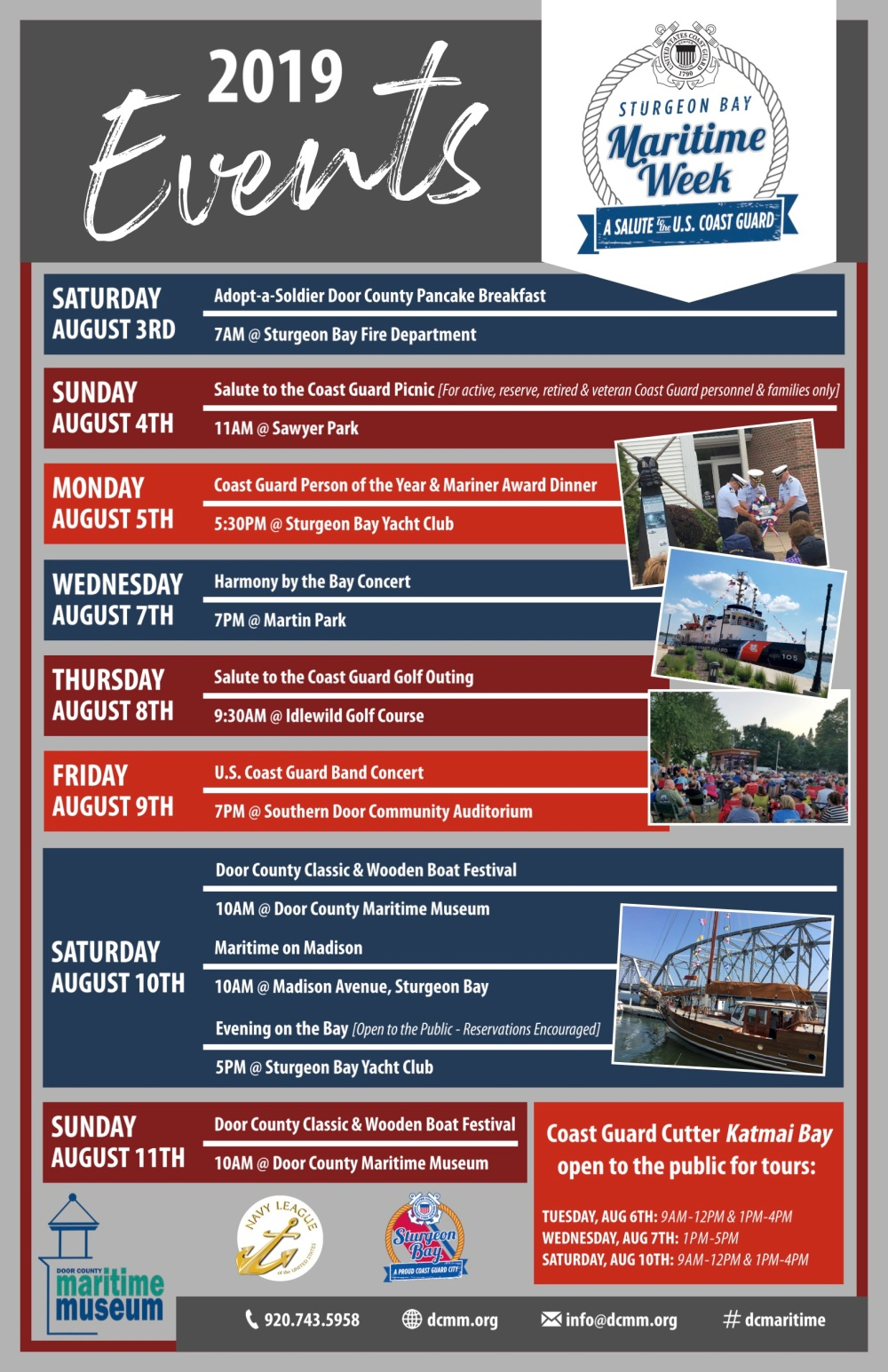 2019.06.11 Maritime Week Poster