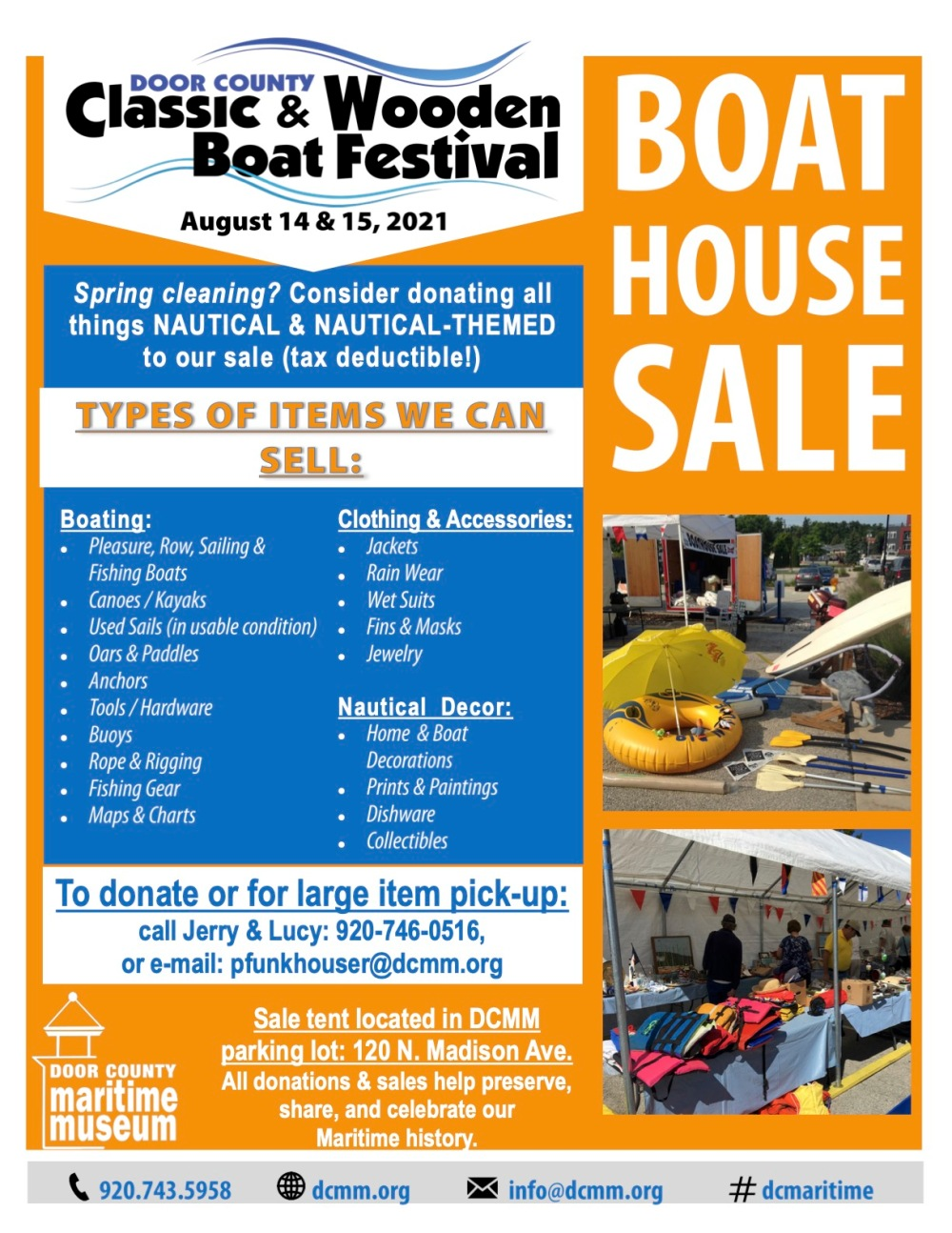 2021 Boat House Sale Poster jpeg